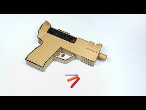 How to Make Cardboard Gun (Very Simple )