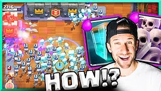 OMG!! WATCH THIS Crazy Clone Spell Match in Clash Royale!