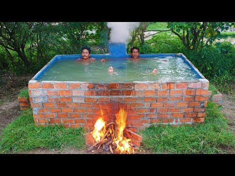 Build Heated Swimming Pool​​ (For the winter)