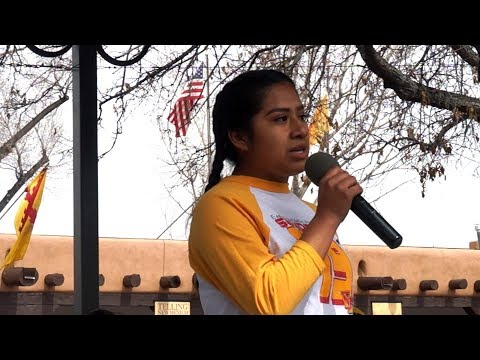 March for Our Lives Santa Fe - Espanola Valley High School