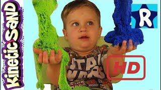 ★ Kinetic Sand Sculpt The Dragon From The Sand Wacky-Tivities Kinetic Sand Sculpt Unpacking  # 187