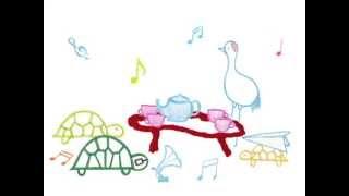 「亀の恩返し 2013」オリジナルメッセージカードは、「おまけアニメ」と...