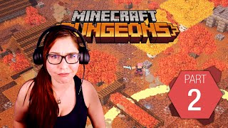 Minecraft Dungeons Pt. 2 | Will there be Pumpkins? | Gaming with Tracy