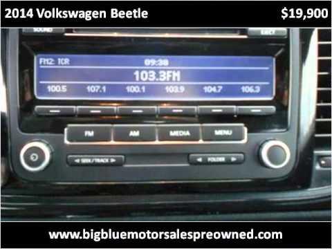 2014 volkswagen beetle used cars barboursville wv youtube for Big blue motors barboursville wv
