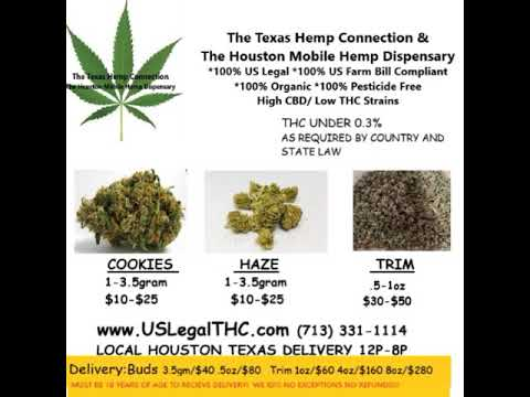 The Houston Mobile Hemp Dispensary