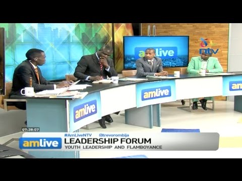 AM Live October 14, 2016: Leadership Forum - Youth leadership & flamboyance