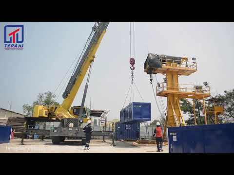 Load Testing On Cargo Handling Equipment/Offshore Container By Teraju Mha Group Sdn Bhd