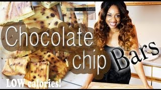 Low Calorie Snack ■ \\chocolate Chip Bars //■ Easy Recipe