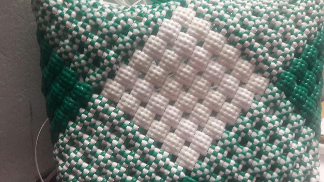 Basket Weaving Koodai Pinnuthal Part 2 : How to make biscuit knot koodai pinnuthal part