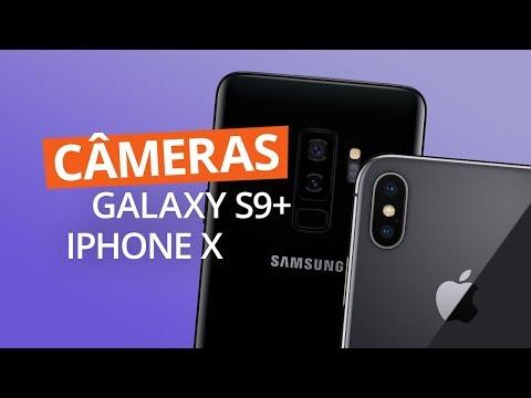 Galaxy S9+ vs iPhone X: qual tem a melhor câmera?