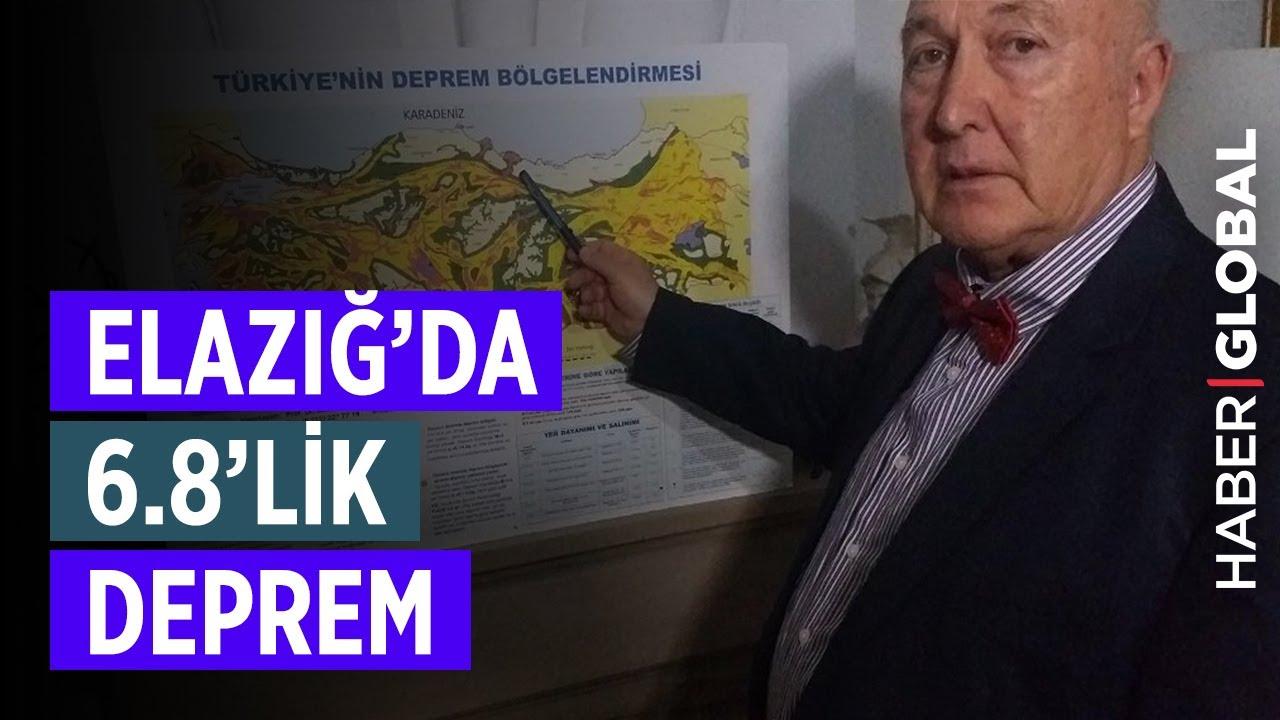 Ahmet Ercan Elazığ'daki 6.8'lik Depremi Yorumladı