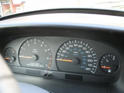 DIY - Dodge Caravan Instrument Cluster Not Working - FIX