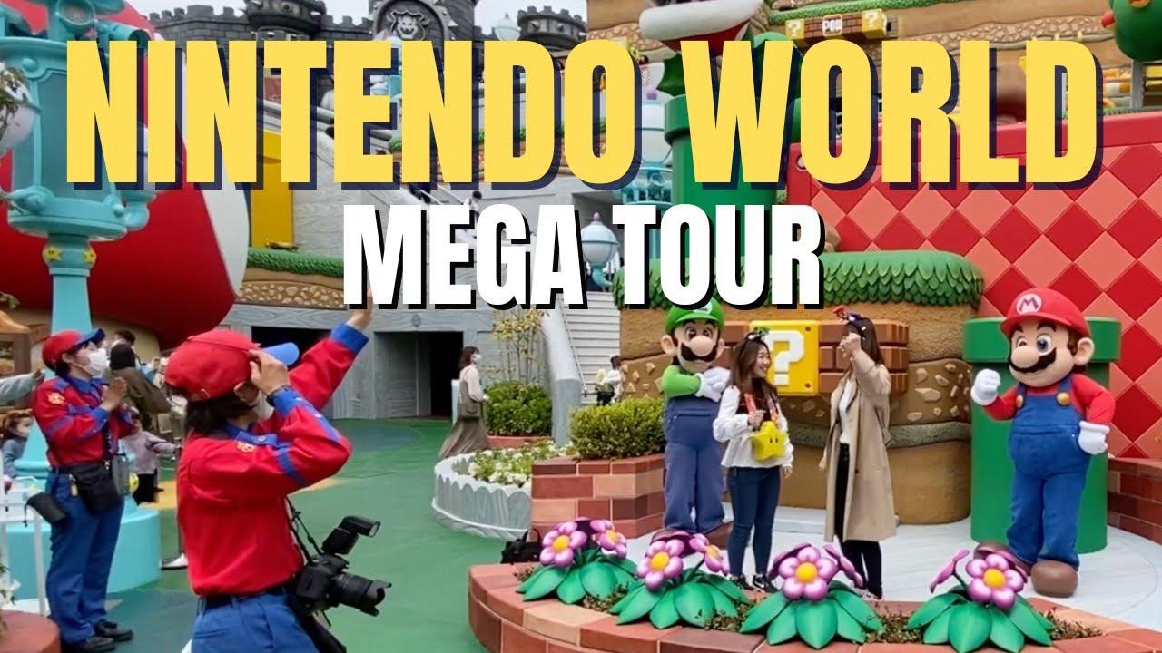 ? Super Nintendo World en Universal Studios Japón | Tour - Vlog en español