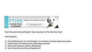 Demystifying IP- How Important is IP to Tech Start Ups?