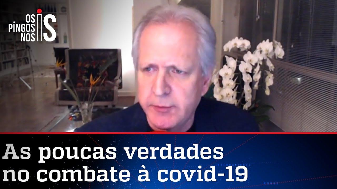 Augusto Nunes: OMS bateu cabeça desde o começo da pandemia