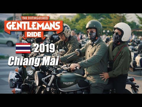 Chiang-Mai Thailand DGR 2019 | The Distinguished Gentleman's Ride