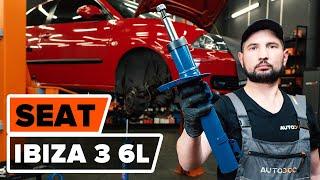 Skifte Bremsetrommel bak og foran SEAT IBIZA IV (6L1) - videoopplæring