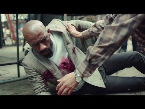 مشهد قتل رفاعي الدسوقي | مسلسل الاسطورة