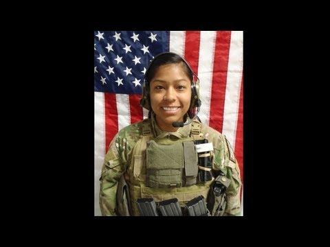 Army captain Jennifer M. Moreno Memorial
