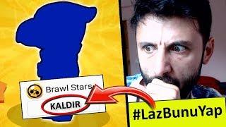 KARAKTER ÇIKARKEN HESABI SİLDİM! #LazBunuYap Brawl Stars