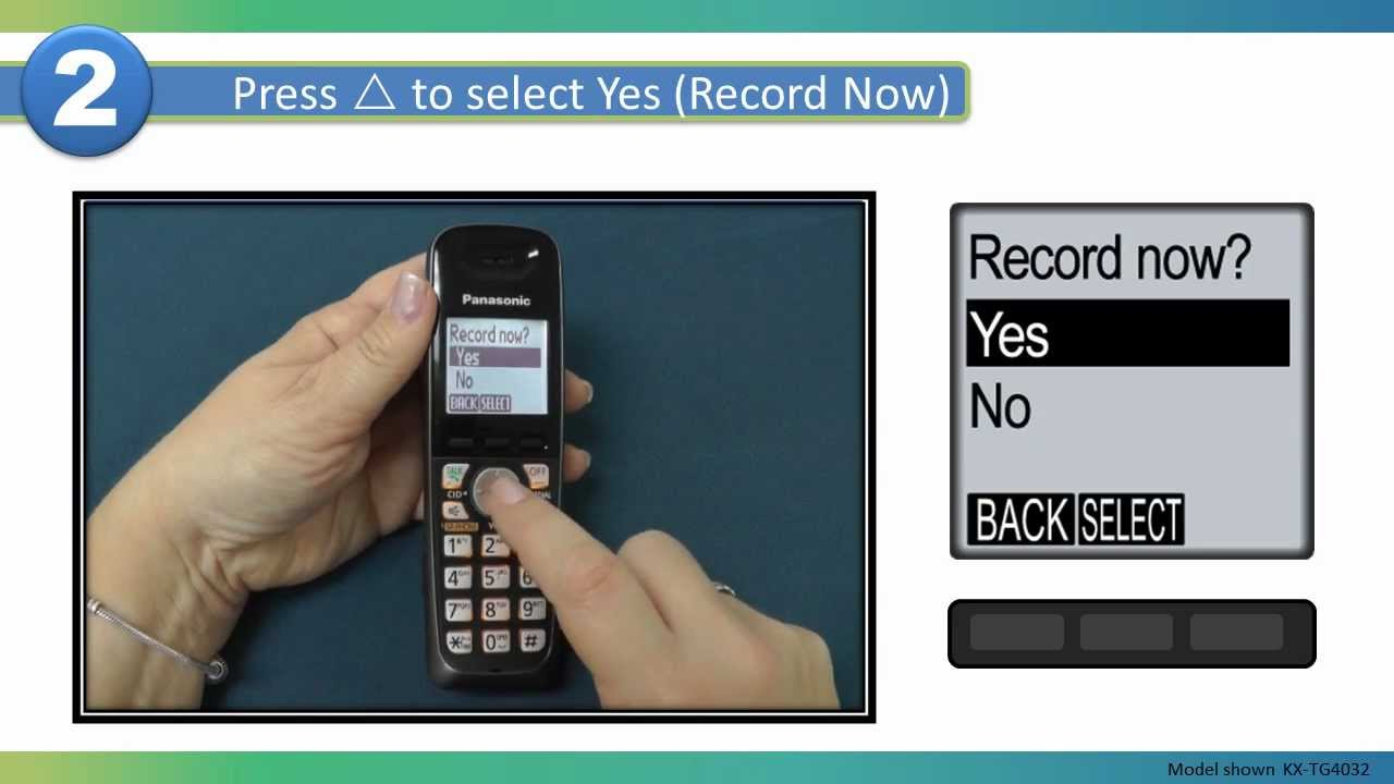 2013 models how to record your own greeting message on your 2013 models how to record your own greeting message on your panasonic cordless telephone m4hsunfo