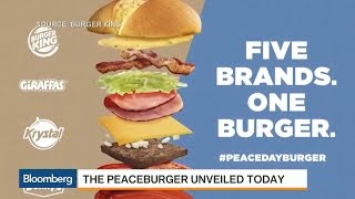 Burger King and Four Others Offer Up 'Peaceburger'
