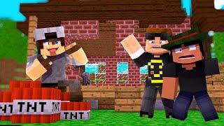 Baixar Minecraft ATIVIDADE #23 - SR PEDRO DESTRIU A MINHA CASA !!!