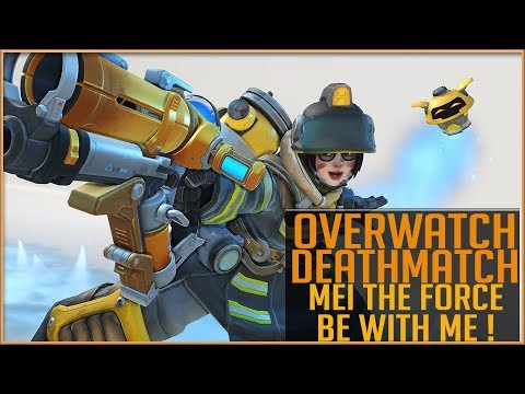 Overwatch Deathmatch - Mei The Force Be With Me