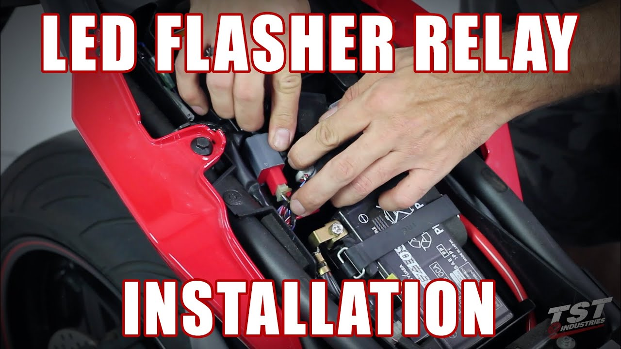 How To Install Led Flasher Relay On A Yamaha Fz