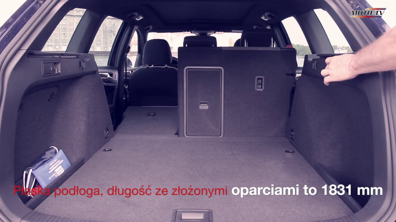 Lounge Abdeckung Vw Golf Variant 2017 - Bagażnik - Youtube