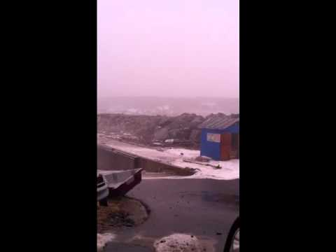 Storm Surge @ East Ferry, NS