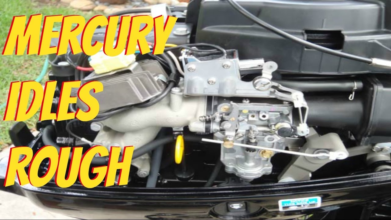 Mercury Outboard Idles Rough And Stalls Youtube Wiring Diagram For A 1971 115
