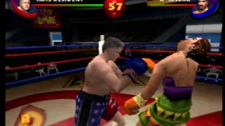 Ready 2 Rumble Round 2 - Bill Clinton vs Angel Rivera (N64)