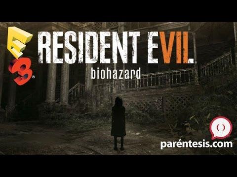 Resident Evil 7 demo con PlayStation VR, primeras impresiones desde E3