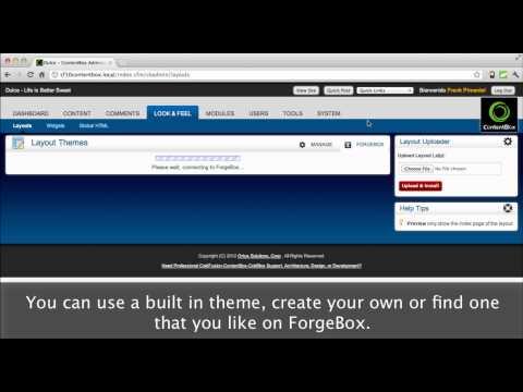 ContentBox Modular CMS Intro Video