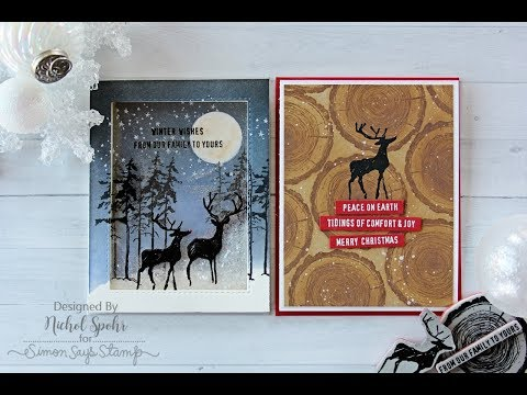 STAMPtember Tim Holtz  Christmas Cards
