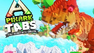 T-REX vs ICE BEARS! PIXARK TABS! - PixARK Gameplay | Pungence