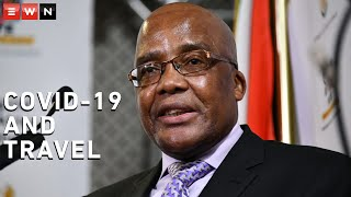 International Relations Minister Naledi Pandor and Home Affairs Minister Aaron Motsoaledi held a briefing to announce the directives and regulations related to travel and transport under level 1 of the national COVID-19 lockdown.