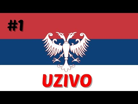 !LIVE! Serbian Empire - Hearts of Iron IV - Waking The Tiger DLC #1