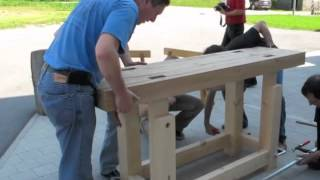 Assembling A Traditional Workbench
