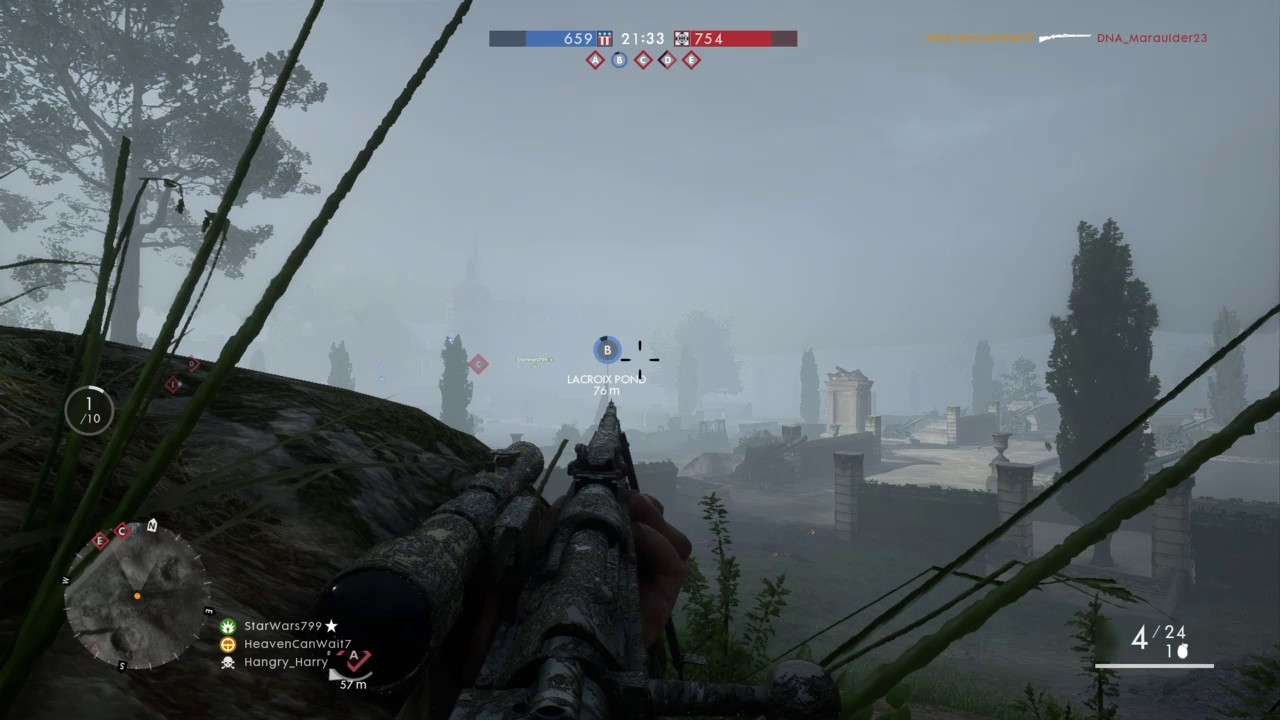 battlefield 1 how to add scopes