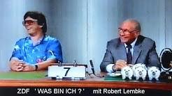 Was bin ich   Robert Lembke und WW