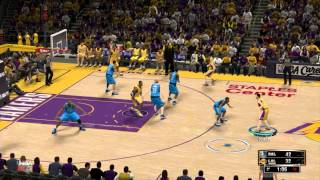 NBA 2K13 PC Lakers VS Mavericks Simulation
