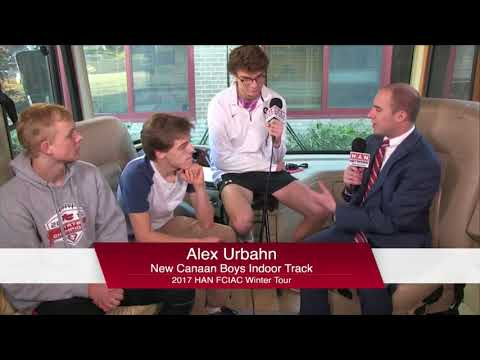 HAN Network FCIAC Winter Sports Tour 2017-18: New Canaan High School Boys Indoor Track