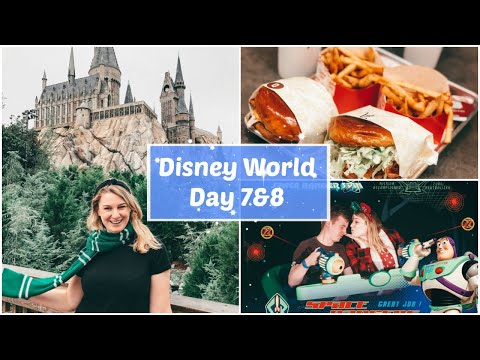 Disney World Day 7&8   Be Our Guest, Fantasmic & Universal Orlando Resort   Charlotte Ruff