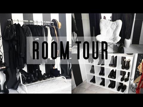 Official Room Tour 2017 (Black & White Theme)   MORBID CHILD