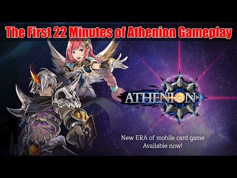 LET'S TRY A NEW TACTICAL CCG ATHENION GAMEPLAY | CCG ANDROID GAME