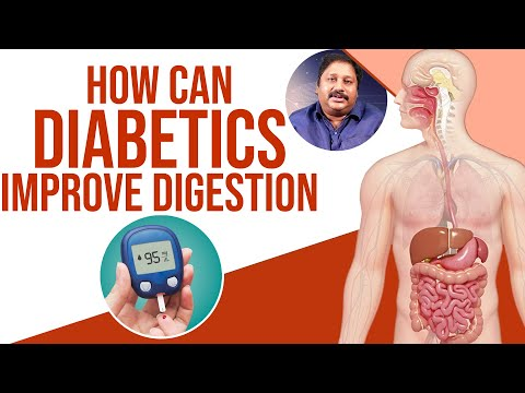 How To Improve Diabetic Patients Digestive System | Dr. Raghunatha Babu