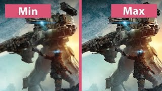 Titanfall 2 – PC Min vs Max 4K UHD Graphics Comparison