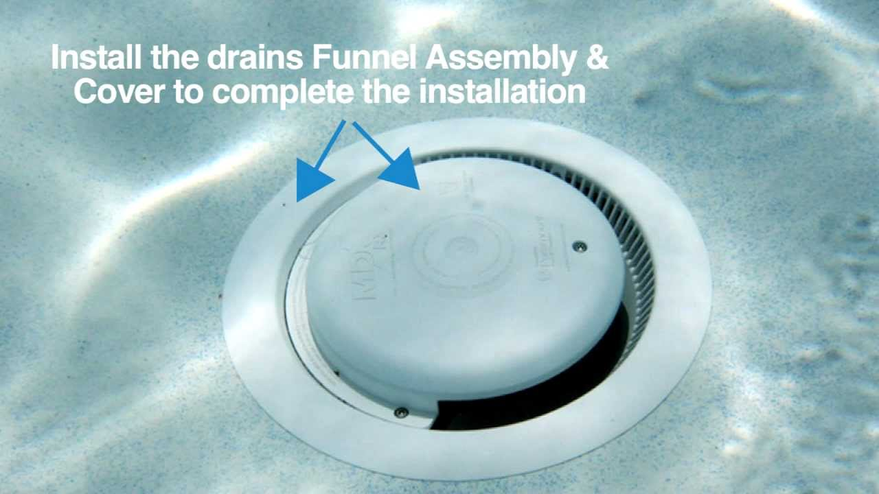 Mdx R3 Vgb Compliant Debris Drain Installation Youtube